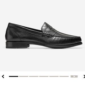 NWOT Cole Hann penny loafers
